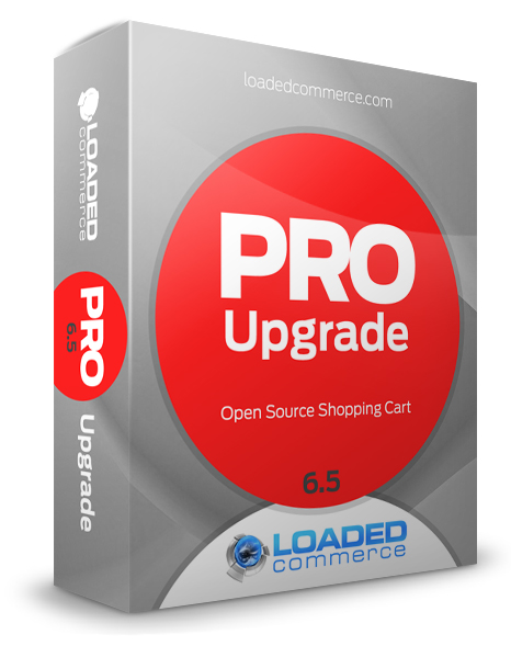 Loaded Commerce 6.5 PRO Upgrade