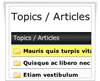 Articles Manager